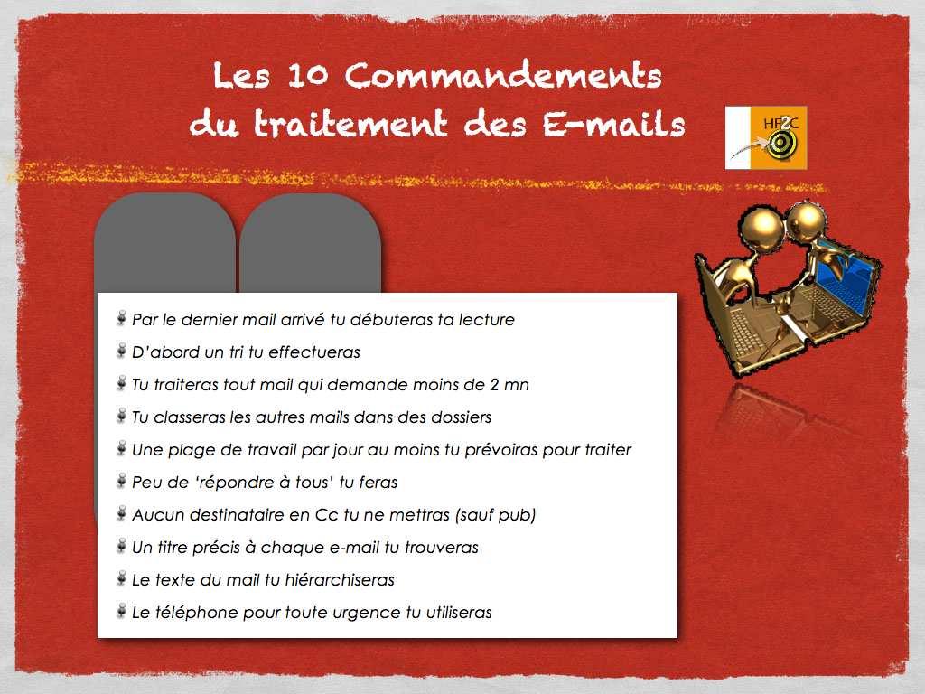 Traitement Emails