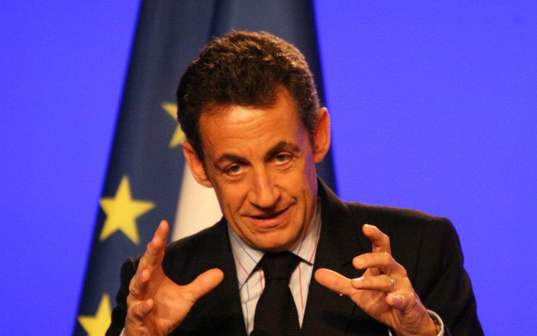 Un autre président de profil TROIS : Nicolas Sarkozy (variante α)…